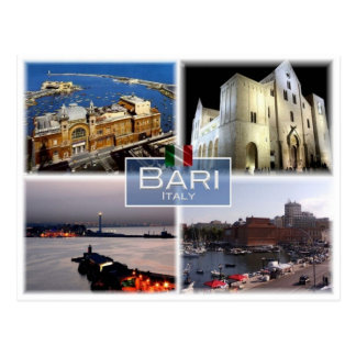 IT Italy - Italia - Bari - Postcard
