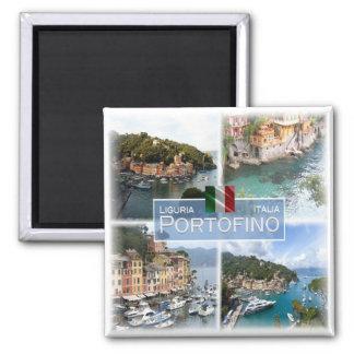 IT Italy # Liguria -  Portofino - Magnet