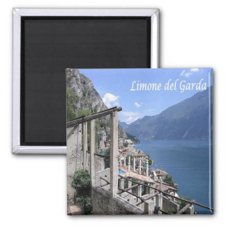IT - Italy - Limone del Garda - Panorama Magnet