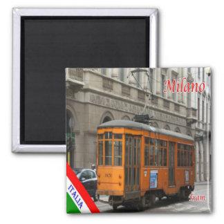 IT - Italy - Milan Milano - tram line 1 Magnet