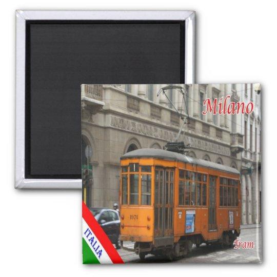 IT - Italy - Milan Milano - tram