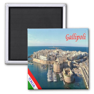 IT - Italy - Salento - Gallipoli - Old Town Magnet