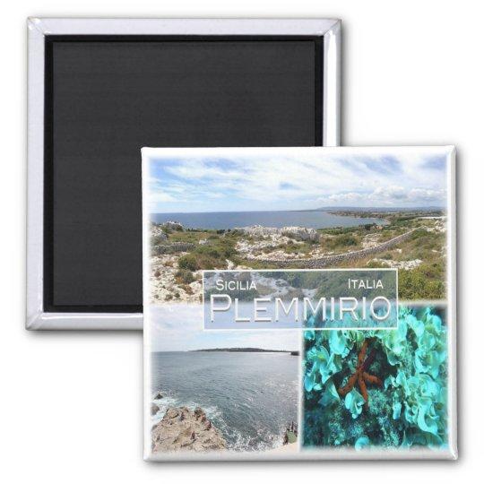 IT Italy # Sicily - Plemmirio - Magnet