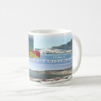 IT Italy - Sicily - Scala dei Turchi - Coffee Mug