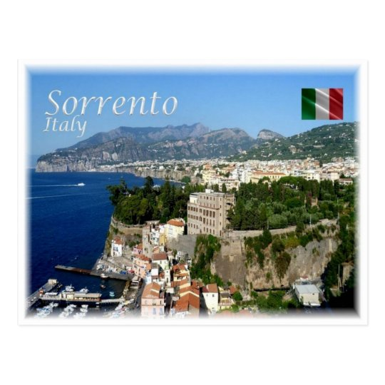 IT Italy - Sorrento Amalfi Coast - Postcard