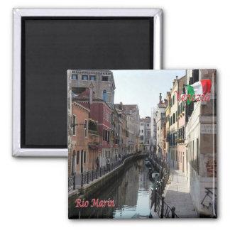 IT - Italy - Venice - Rio Marin Square Magnet