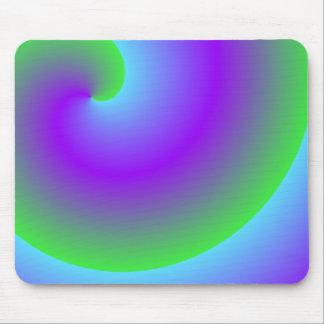 it looks like it glows mouse pad