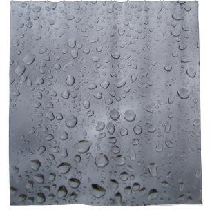 It Must Rain Drops Shower Curtain
