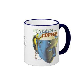It Needs Coffee Mug