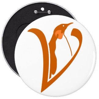 It plates of Alive Software Libre 6 Cm Round Badge