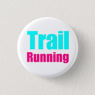 "It plates ""Trail Running "" 3 Cm Round Badge"