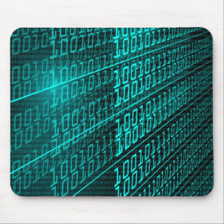 IT programming  computer binary code programmer Mouse Pad