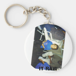 IT RAW BASIC ROUND BUTTON KEY RING