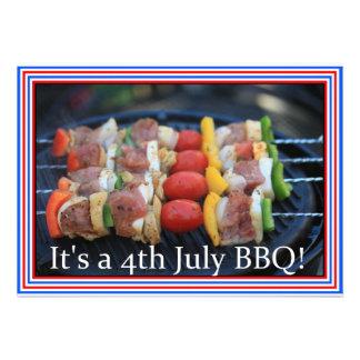 It s a 4th July BBQ invitation
