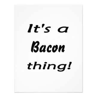 It s a bacon thing announcements