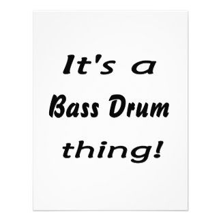 It s a bass drum thing custom invitations