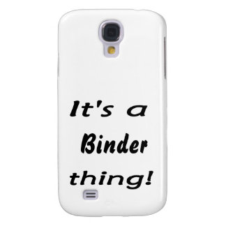 It s a binder thing galaxy s4 cover