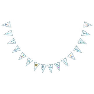 It's a Boy – Personalized Baby Shower Bunting