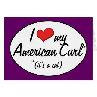 It s a Cat I Love My American Curl Cards
