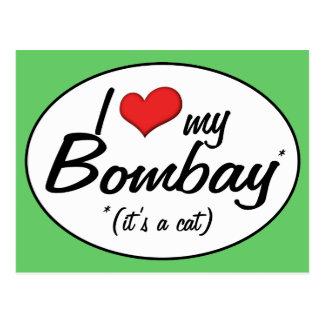 It s a Cat I Love My Bombay Postcard