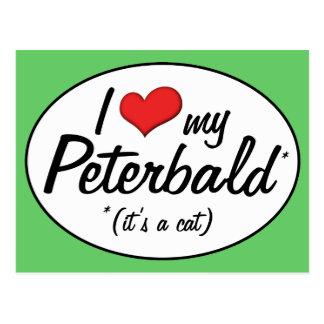 It s a Cat I Love My Peterbald Post Card