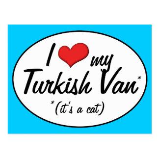 It s a Cat I Love My Turkish Van Postcard