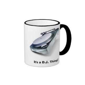 It s a D J Thing Coffee Mugs