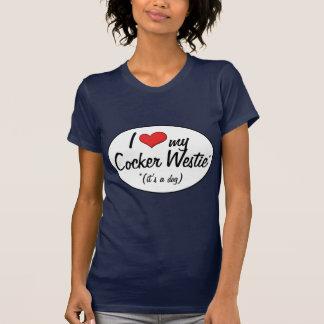 It s a Dog I Love My Cocker Westie Tee Shirts
