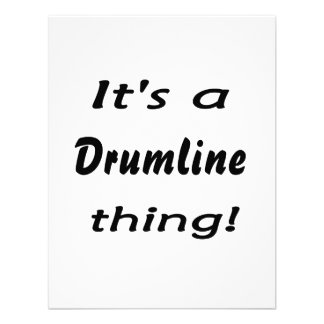 It s a drumline thing personalized announcement