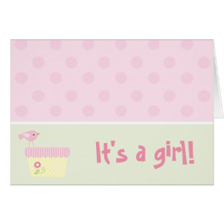 It s a girl cards