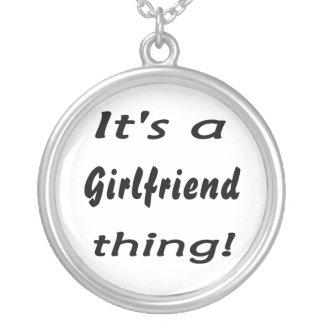 It s a Girlfriend thing Pendants