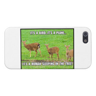 It s a Human Sleeping in the Tree iPhone 5 Cover