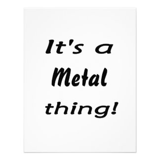 It s a metal thing custom announcements