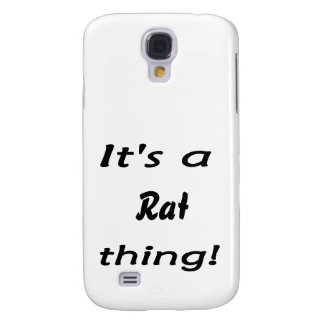 It s a rat thing galaxy s4 cover