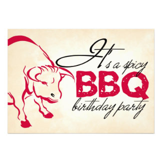 It s a spicy birthday party invitation