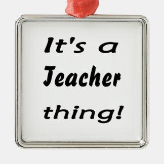 It s a teacher thing christmas tree ornament