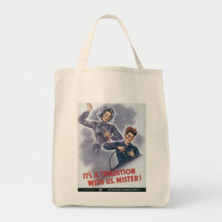 It s A Tradition World War 2 Canvas Bag