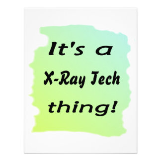It s a x-ray tech thing personalized announcements