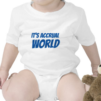 It s accrual world t-shirt