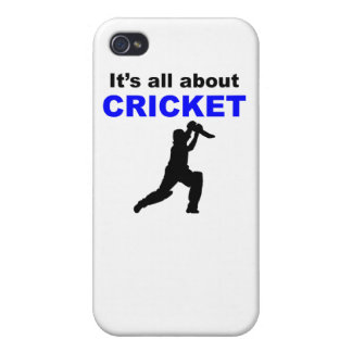 It s All About Cricket iPhone 4 Covers