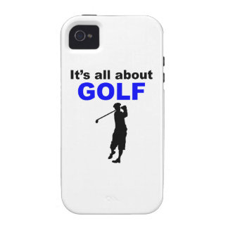 It s All About Golf iPhone 4 Case