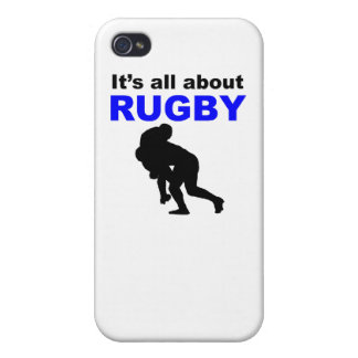 It s All About Rugby iPhone 4/4S Case