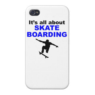 It s All About Skateboarding iPhone 4/4S Cover