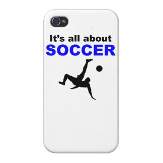 It s All About Soccer iPhone 4/4S Cover