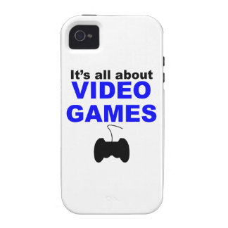It s All About Video Games iPhone 4/4S Covers