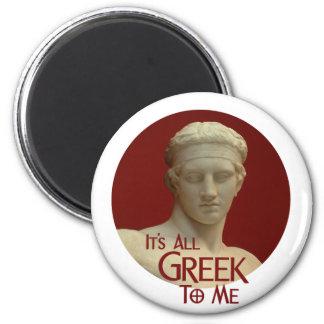 It s All Greek to Me Fridge Magnets