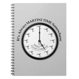 IT S ALWAYS MARTINI TIME SOMEWHERE LUGGAGE TAG NOTE BOOK