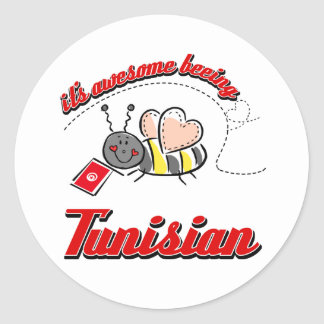It s awesome beeing Tunisian Stickers