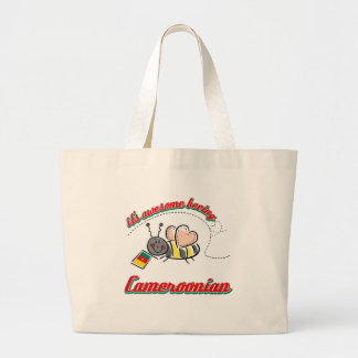 It's awesome being Cameroonian Jumbo Tote Bag