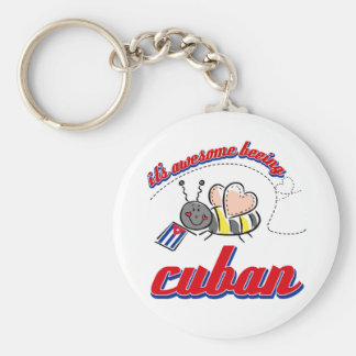 It's awesome being Cuban Key Chains